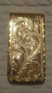 Jewelers Bronze Money Clip - Pattern 653JB