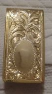 Jewelers Bronze Money Clip - Pattern 655JB