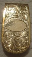 Jewelers Bronze Money Clip - Pattern 656JB