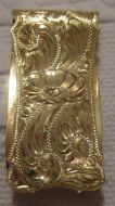 Jewelers Bronze Money Clip - Pattern 657JB