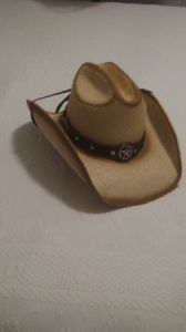 "Bullhide ""Star Central"" - Genuine Panama Western Fashion Straw Hat"