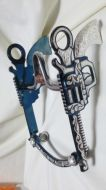 Pistol Silver Inlay Bit - Blued
