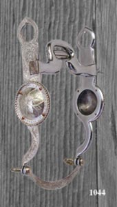 Concho Silver Overlay Bit