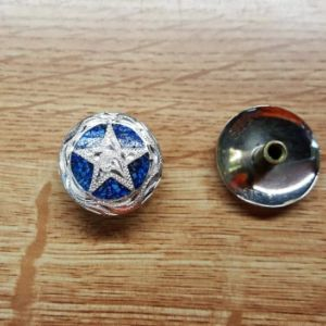 Austin Star (w/ Turquoise) Concho with Chicago Screw