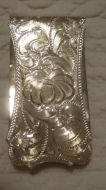 Sterling Overlay Money Clip - Pattern 657